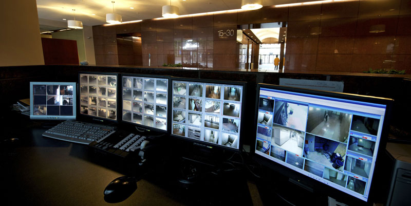 Video-Surveillance-Security-Monitor-Room